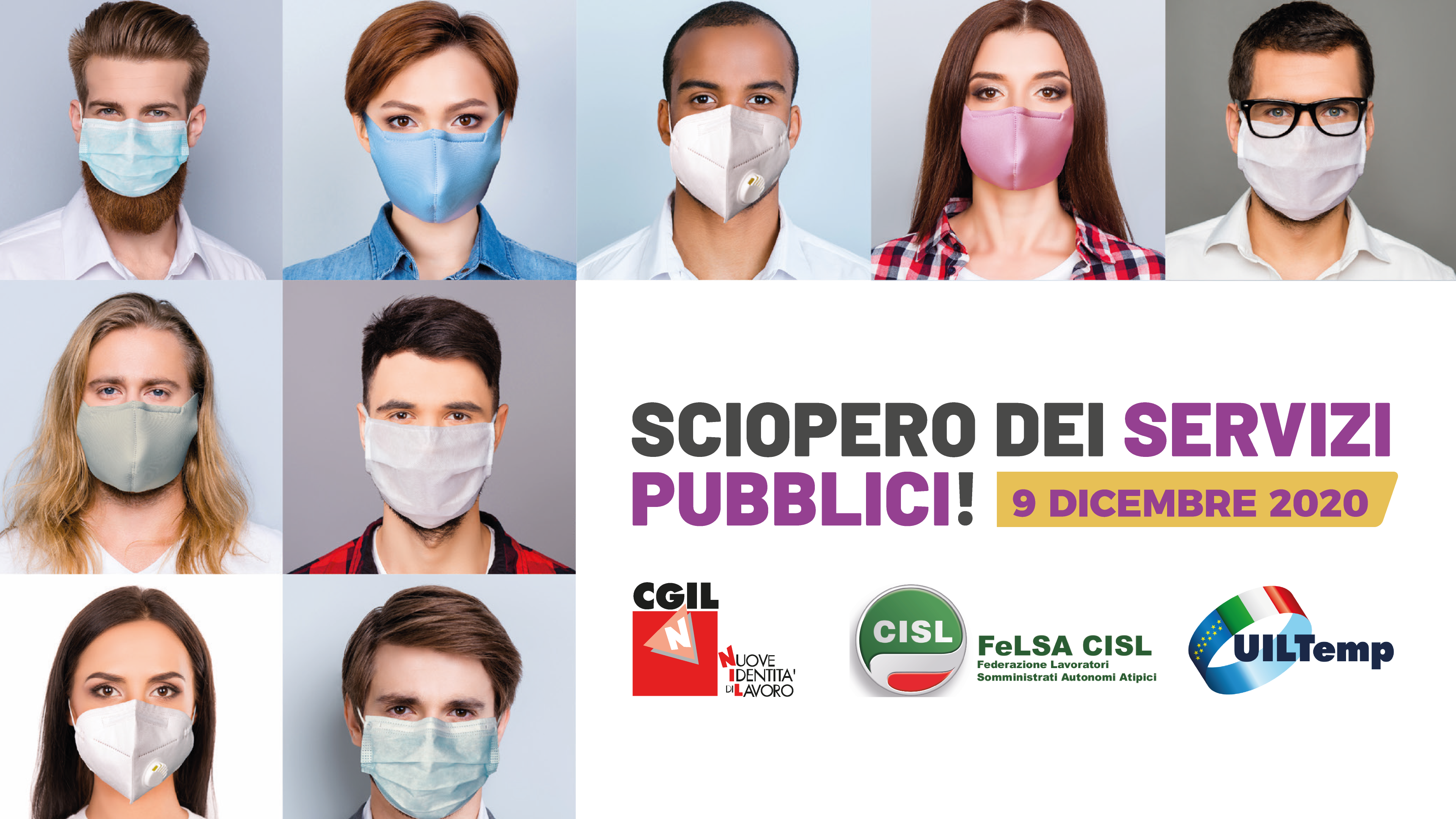 sciopero servizi pubblici